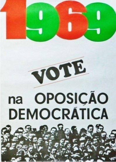 Cartaz da Oposição Democrática