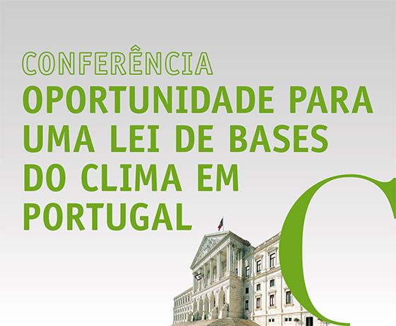 """Conferência """"Oportunidade para uma lei de Bases do Clima"""""""