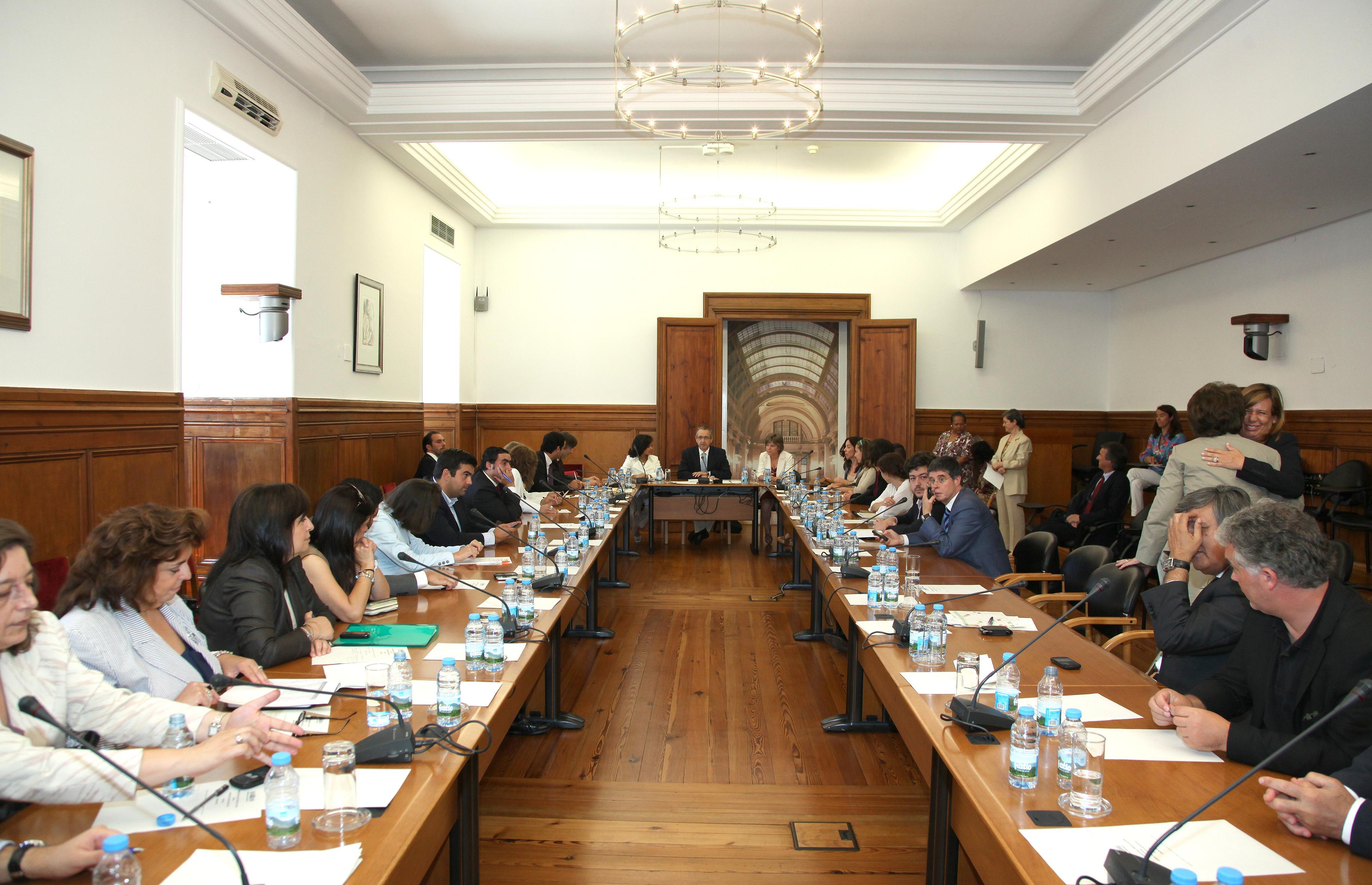 19.Julho.2011 - Audição dos responsáveis pela candidatura do Fado a Património Cultural Imaterial da Humanidade.