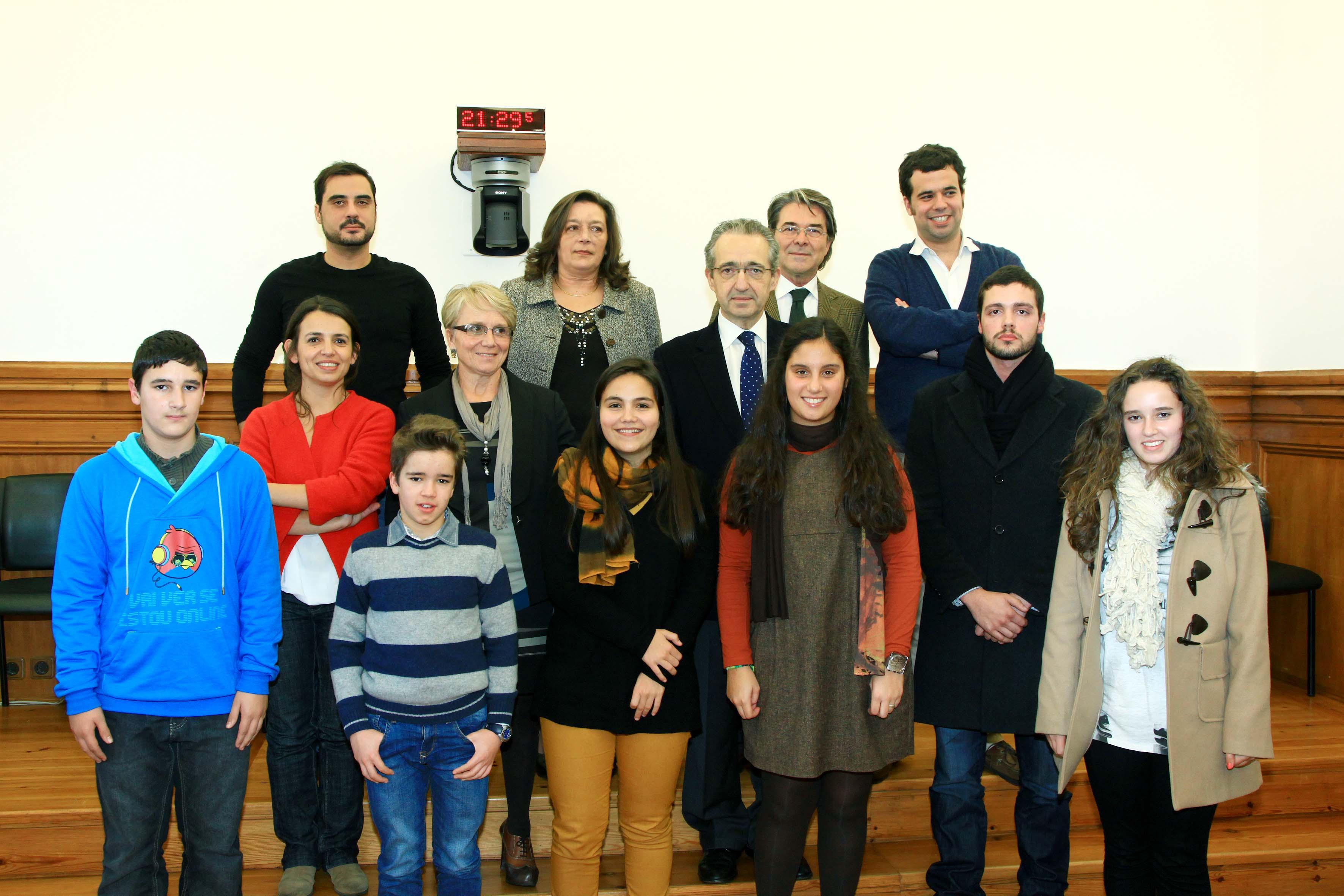 28.novembro.2012 - Cerimónia de entrega dos Prémios Reportagem Parlamento dos Jovens 2011/2012.