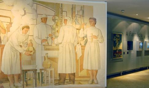 16.maio.2017 - Visita de trabalho ao Museu da Farmácia, em Lisboa